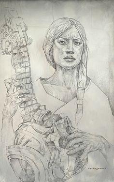 CradleSong-Step01 , Cedric Peyravernay on ArtStation at https://www.artstation.com/artwork/OENev