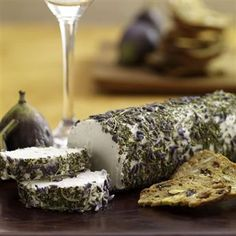 Goat Cheese with Herbes de Provence: Perfect starter - and so easy! # ...