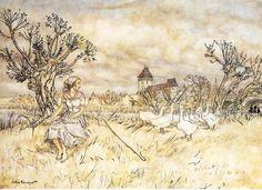 Arthur Rackham - The Goose Girl