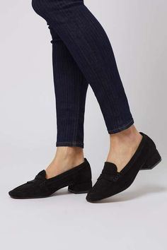 Kave block heel loafer. Chaussures ...