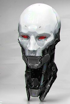 android robot Metal Heads - by jarold Sng Rpg Cyberpunk, Cyberpunk Kunst, Arte Robot, Robot Concept Art, Robot Design, Game Design, Ex Machina, Sci Fi Characters, Metalhead