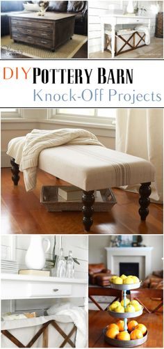 DIY Pottery Barn Knock-Off Projects