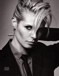 That hair tho.  Heidi Klum