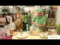 Leche vegetal, yogur y queso (de anacardos) con Chufamix - YouTube