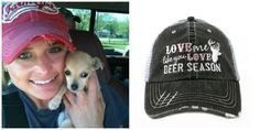 3. Distressed Baseball Cap  Cute and practical- keeps the sun and your hair out of your eyes, while looking cute and comfortable at the same time. (TRS Version: Love Me Like You Love Deer Season Mesh Trucker Baseball Cap Hat, $24.99)