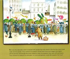 Balloons Over Broadway  by Melissa Sweet  Elementary School • Nonfiction • Picture Book