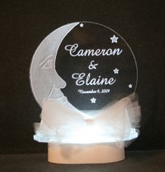 Moon & Stars Cake Top