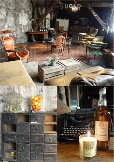 This is amazing!! Love the old speak easy feel to It. Maybe a wine cellar foyer kind of area.