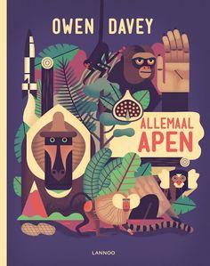 Allemaal apen - Owen Davey (aanwezig)