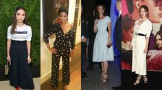 nice This Week's Best-Dressed Celebrities Prove a Chic Summer Look Needn't Include Color