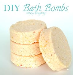 Homemade Bath Bomb Recipe {Apricot} - Simply Designing with Ashley