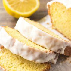 Lemon Dessert Recipes, Lemon Recipes, Delicious Desserts, Breakfast Recipes, Yummy Food, Breakfast Ideas, Loaf Recipes, Pound Cake Recipes, Pastry Recipes