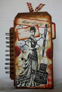 ShelbyDoodle Designs: A Vintage Themed Journal for Ephemera's Vintage Ga...