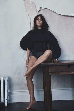 "Kim Kardashian by Lachlan Bailey in ""Kim Gets Waisted"" for Vogue Australia, June 2016"