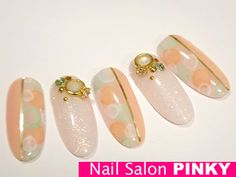 PINKY's nailog-たらしこみネイル