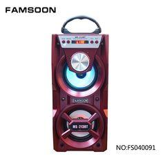 portable mini mobile speaker system with led light Mobile Speaker, Speaker System, Bluetooth, Technology, Led, Mini, Tech, Tecnologia
