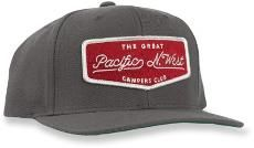 The Great PNW Campers Club Snapback Hat