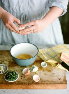Recipe: Dandelion Greens and Pepper Omelet KINFOLK