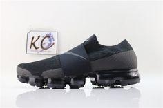 "Nike Air VaporMax 2018 ""Black Velcro"" AH3397-004 Nike Air Vapormax, All Black Sneakers, Shoes, Fashion, Moda, Zapatos, Shoes Outlet, Fashion Styles, Shoe"