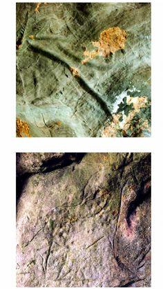 LA LLUERA  - une des grottes ornées de la vallée du Nalón - à quelques kilomètres de celle de San Roman de Candamo