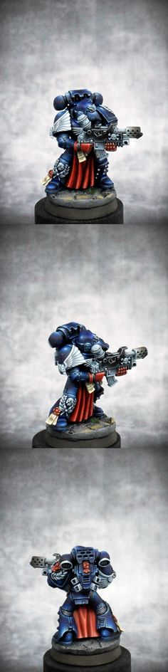40k - Space Marines Crimson Fist Sternguard by rc555