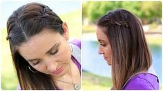 4 strand Waterfall braid---DIY version!