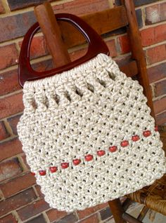 Vintage knot purse by SouthernWhimsicality on Etsy, $12.00