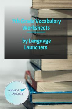 Worksheet set for 7th grade vocabulary. Match the word to the meaning for these 70 items. Easel Activity already made on teacherspayteachers Vocabulary Builder, Teaching Vocabulary, Vocabulary Worksheets, Vocabulary Words, School Age Activities, Easel Activities, Verbal Communication Skills, Matching Worksheets, English Language Learners