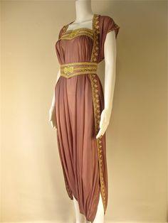 Arabian Nights or Circus Girl Costume - lilac rose More