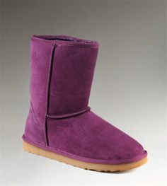 UGG Tall Classic 5815 Purple Boots - Oooh, I'd like to have these right now! Ugg Boots Sale, Ugg Boots Cheap, Ugg Classic Tall, Classic Ugg Boots, Casual Boots, Tall Uggs, Tall Boots, Uggs For Cheap, Purple Boots