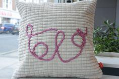 Lola's cushion SOLD