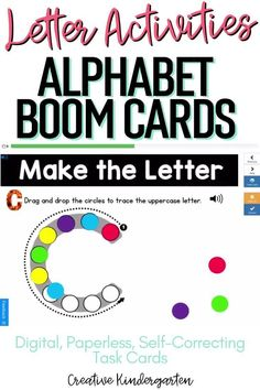 Reinforce uppercase and lowercase letter recognition, letter formation, and letter sounds with hands-on and engaging Boom Card activities. These digital task cards will work on learning to identify and name the letter J.Use this deck for letter of the day, letter of the week or all year to reinforce alphabet knowledge. This pack includes activities for uppercase and lowercase letters, letter discrimination, letter sounds, letter building, and sorting. Literacy Skills, Kindergarten Literacy, Alphabet Activities, Literacy Activities, Alphabet Writing, Letter Formation, Uppercase And Lowercase Letters, Letter Recognition, Letter Sounds