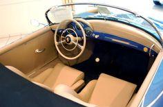 The Porsche Speedster. Porsche 356 Speedster, Porsche 356a, Porsche Sports Car, Vintage Porsche, Unique Cars, My Dream Car, Cool Cars, Car Seats, Classic Cars