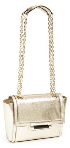 Diane von Furstenberg Metallic Bag http://rstyle.me/n/s43mnbh9c7