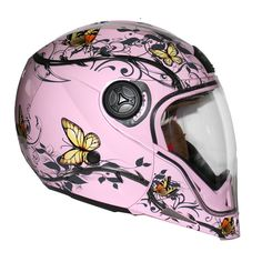 Stealth HD190 Transformer Butterfly Motorcycle Helmet  Description: The Stealth HD190 Butterfly Transformer Women's Motorbike Helmets are       packed with features..              Specifications include        Eyecatching Design – With agressive Stealth aerodynamic styling and a vivid butterfly design you'll certainly be visible       ...  http://bikesdirect.org.uk/stealth-hd190-transformer-butterfly-motorcycle-helmet-2/