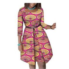 Summer African dress for women - Fashion Moda 2019 Short African Dresses, African Fashion Designers, African Blouses, Latest African Fashion Dresses, Africa Fashion, African Print Fashion, Ankara Dress Styles, African Traditional Dresses, Plus Size Kleidung