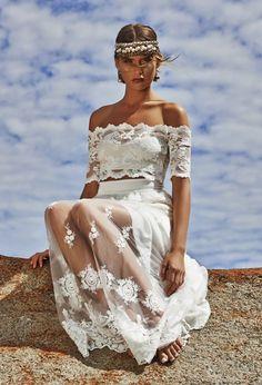 Ideas Wedding Boho Chic Beach Grace Loves Lace For 2019 Gypsy Style, Boho Gypsy, Hippie Boho, Bohemian Style, Bohemian Summer, Bohemian Beach, Bohemian Wedding Dresses, Hippie Dresses, Boho Wedding