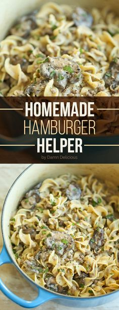 Homemade Hamburger Helper | 19 Genius Ideas For People Who Are Obsessed With Pasta