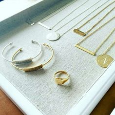 Bespoke - engraveables by Stella and Dot! Personalise your look with these everyday pieces.