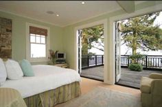 a bedroom with a balcony as big as that? love it!