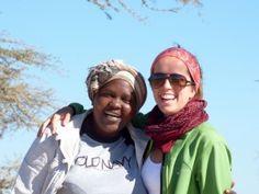 Colleta (manager y guía de Udare Safari). Julio 2015