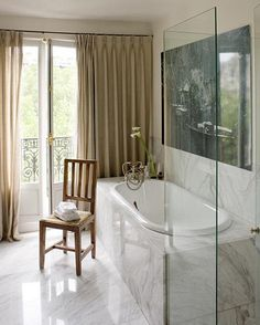 Ina Garten's Paris apartment, architect Lia Kiladis, via Boxwood Terrace