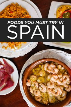 Here's a list of Spanish Foods you must try when visiting Spain // localadventurer.com