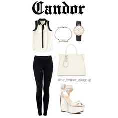 Divergent inspired outfits 4/5 ~Candor