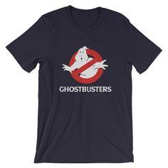 Ghostbusters, Fabric Weights, Custom Design, Shirt Designs, Navy, Cotton, Mens Tops, T Shirt, Fashion