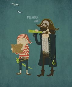 I love pirate Sherlock and John!