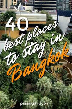Choose the best place to stay in Bangkok, Thailand using our tips. #travel #Bangkok #besthotels #hotel #Thailand #travelblogger