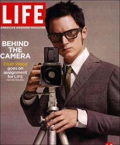 Elijah Wood with a Hasselblad | 33 Celebrities With Their Cameras