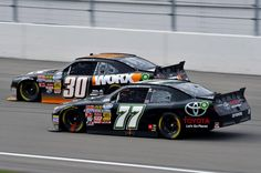Parker Kligerman and the No 77 Toyota team. Sams Town 300. Las Vegas, NV