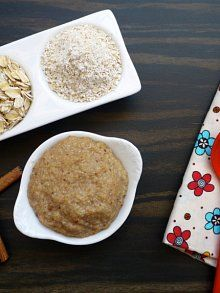 Homemade Oatmeal Cereal for Babies | Weelicious